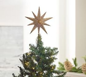 Pottery Barn Mirrored Star Topper
