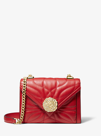 Michael Kors Whitney Small Petal Quilted Leather C