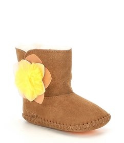 UGG Infant Girls Cassie Cactus Flower Crib Shoe