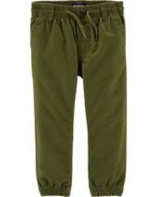 carters Baby Boy Twill Joggers