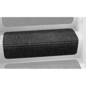 """Decorian Step Huggers for Stairs, 13.5"""", Blac"""