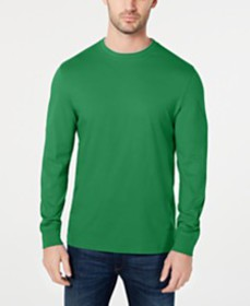 Club Room Men's Doubler Crewneck T-Shirt, Created