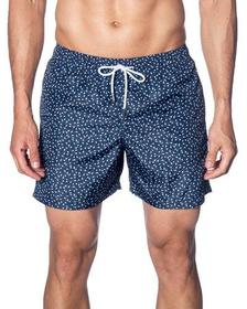 Jared Lang Men's Dot-Print Swim Shorts