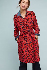 Anthropologie Mariner Trench Coat