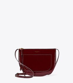 Tory Burch PIPER PATENT SADDLEBAG