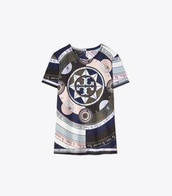 Tory Burch PRINTED LOGO T-SHIRT
