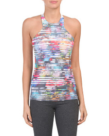 NUX Made In Usa Leah Printed Tank