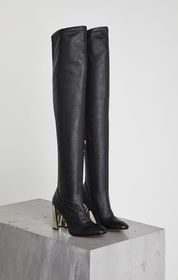BCBG Bea Stretch Leather Boot