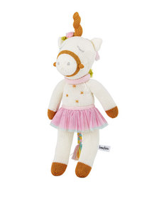 Zubels Knit Unicorn Doll 14