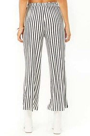 Forever21 Striped Cropped Pants
