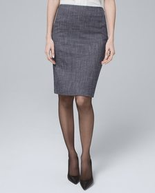 Suiting Pencil Skirt
