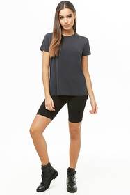 Forever21 Vented High-Low Tee