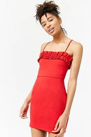 Forever21 Tiered Ruffle Bodycon Dress