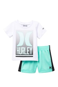 Hurley Optic Short Set (Baby Boys)
