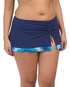 PROFILE BY GOTTEX Plus Pool Party Skirt