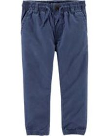 carters Toddler Boy Twill Joggers