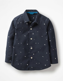 Boden Space Print Party Shirt