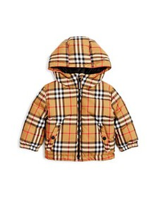 Burberry - Unisex Rio Vintage Check Hooded Down Co
