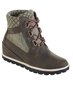 LL Bean Wedge Snow Boot, Leather/Mesh D Ring