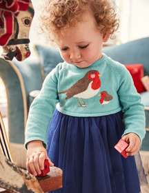 Boden Peculiar Pets Knitted Dress