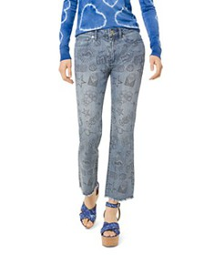 MICHAEL Michael Kors - Summer Camp High Rise Cropp