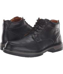Johnston & Murphy Black Waterproof Tumbled Full Gr
