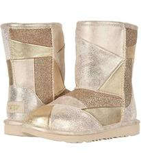 UGG Classic Short II Patchwork (Little Kid/Big Kid