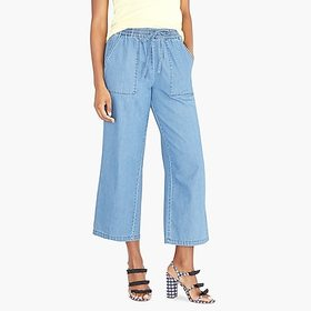 J. Crew factory womens Chambray utility drawstring
