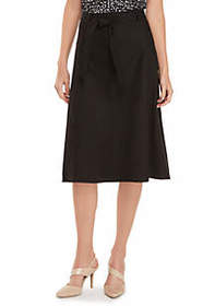The Limited Linen Skirt With Tie Waist