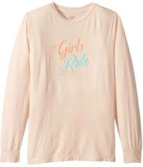Roxy Girls Rule Long Sleeve Tee (Big Kids)
