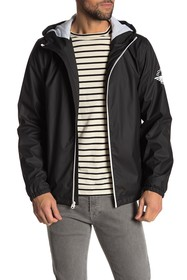 Dockers Rubberized Light Weight Hooded Jacket