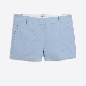 "J. Crew Factory factory womens 3 1/2"" oxford short"