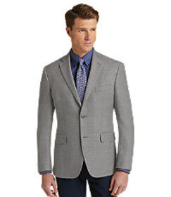 Jos Bank Traveler Collection Tailored Fit Textured