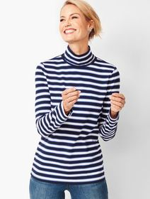 Talbots Turtleneck - Sail Stripe
