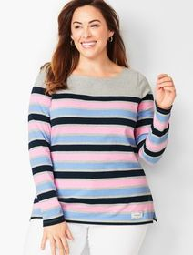 Talbots Stripe Authentic Talbots Tee
