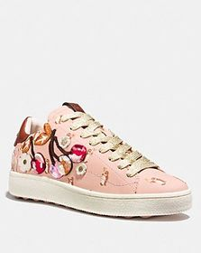 Coach c101 with cherry patches
