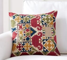 Pottery Barn Autumn Embroidered Pillow Cover