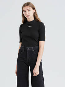 Levi's Levi's® Small Logo Ribbed Slim Tee