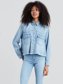 Levi's Addison Shirt with Rhinestone Sleeve