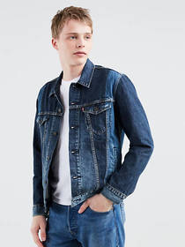 Levi's Pieced Denim Trucker Jacket