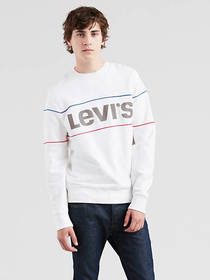 Levi's Graphic Reflective Crewneck Sweatshirt