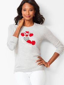 "Talbots ""Beclaws I Love You"" Sweater"