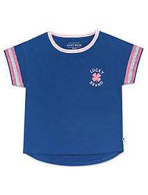 Lucky Brand Little Girls 5-6x Gitana Tee