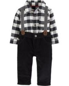 Osh Kosh Baby Boy3-Piece Dress Me Up Set