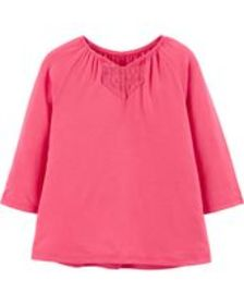 carters Toddler Girl Stretchy Jersey Top