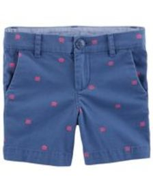 carters Toddler Girl Stretch School-Length Heart S