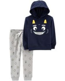 carters Toddler Boy 2-Piece Monster Hoodie & Jogge
