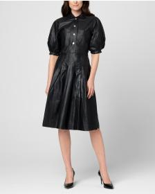 Juicy Couture Leather Shirtdress