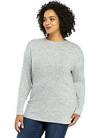 The Limited Plus Size Cozy Cross Back Pullover