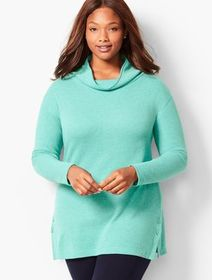 Talbots Thermal Cowlneck Top